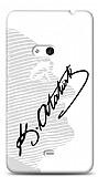 Dafoni Nokia Lumia 625 Atat�rk Sil�et �mza K�l�f