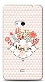 Dafoni Nokia Lumia 625 I Love You K�l�f