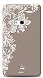 Dafoni Nokia Lumia 625 Ruche K�l�f