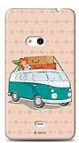 Dafoni Nokia Lumia 625 Ye�il VosVos K�l�f