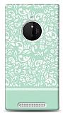 Nokia Lumia 830 Green Flower Kılıf