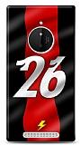 Nokia Lumia 830 Kırmızı Şimşekler Kılıf