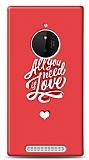 Nokia Lumia 830 Need Love Kılıf