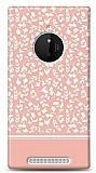 Nokia Lumia 830 Pink Flower Kılıf