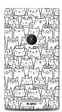 Dafoni Nokia Lumia 925 Cats K�l�f