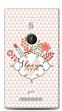 Dafoni Nokia Lumia 925 I Love You K�l�f