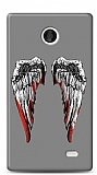 Dafoni Nokia X / X Plus Bloody Angel K�l�f