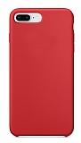 Dafoni Orjinal Series iPhone 7 Plus / 8 Plus Kırmızı Silikon Kılıf