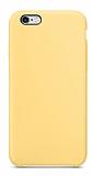 Dafoni Orjinal Series iPhone 6 / 6S Sarı Silikon Kılıf