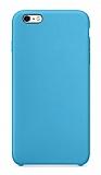 Dafoni Orjinal Series iPhone 6 / 6S Mavi Silikon Kılıf