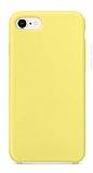 Dafoni Orjinal Series iPhone 7 / 8 Sarı Silikon Kılıf