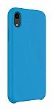 Dafoni Orjinal Series iPhone XR Mavi Silikon Kılıf