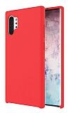 Dafoni Orjinal Series Samsung Galaxy Note 10 Plus Kırmızı Silikon Kılıf