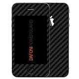 Dafoni PowerGuard iPhone 4 / 4S �n + Arka Karbon Fiber Kaplama Sticker
