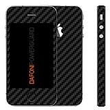 Dafoni PowerGuard iPhone 4 / 4S �n + Arka + Yan Karbon Fiber Kaplama Sticker