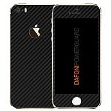 Dafoni PowerGuard iPhone SE / 5 / 5S �n + Arka Karbon Fiber Kaplama Sticker