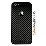 Dafoni PowerGuard iPhone 6S Arka Karbon Fiber Kaplama Sticker
