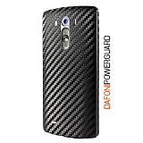 Dafoni PowerGuard LG G3 Arka Karbon Fiber Kaplama Sticker