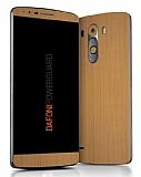 Dafoni PowerGuard LG G3 Ön + Arka Ahşap Kaplama Sticker