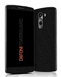 Dafoni PowerGuard LG G3 Ön + Arka Siyah Deri Kaplama Sticker
