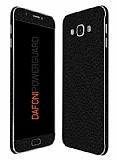 Dafoni PowerGuard Samsung Galaxy A8 Ön + Arka + Yan Siyah Deri Kaplama Sticker