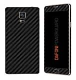 Dafoni PowerGuard Samsung Galaxy Note 4 Ön + Arka Karbon Fiber Kaplama Sticker
