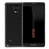 Dafoni PowerGuard Samsung Galaxy Note 4 �n + Arka Karbon Fiber Kaplama Sticker