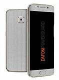 Dafoni PowerGuard Samsung Galaxy S6 Edge Ön + Arka + Yan Silver Kaplama Sticker