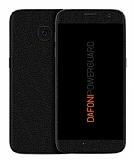 Dafoni PowerGuard Samsung Galaxy S7 Ön + Arka + Yan Siyah Deri Kaplama Sticker