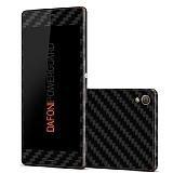 Dafoni PowerGuard Sony Xperia Z3 �n + Arka Karbon Fiber Kaplama Sticker