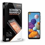 Dafoni Samsung Galaxy A21 Tempered Glass Premium Cam Ekran Koruyucu