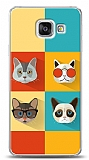 Samsung Galaxy A3 2016 Four Cats Kılıf