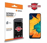 Dafoni Samsung Galaxy A20 / A30 Slim Triple Shield Ekran Koruyucu