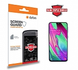 Dafoni Samsung Galaxy A40 Slim Triple Shield Ekran Koruyucu