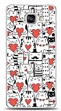Samsung Galaxy A5 2016 Love Cats Kılıf