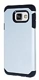 Dafoni Samsung Galaxy A5 2016 Slim Power Ultra Koruma Silver Kılıf