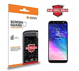 Dafoni Samsung Galaxy A6 2018 Slim Triple Shield Ekran Koruyucu