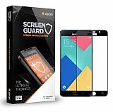 Dafoni Samsung Galaxy A7 2016 Curve Tempered Glass Premium Siyah Full Cam Ekran Koruyucu