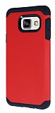 Dafoni Samsung Galaxy A7 2016 Slim Power Ultra Koruma Kırmızı Kılıf