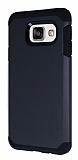 Dafoni Samsung Galaxy A7 2016 Slim Power Ultra Koruma Siyah Kılıf