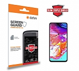 Dafoni Samsung Galaxy A70 Slim Triple Shield Ekran Koruyucu