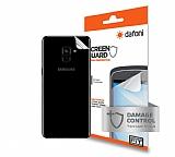 Dafoni Samsung Galaxy A8 Plus 2018 Darbe Emici Arka Gövde Koruyucu