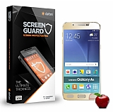Dafoni Samsung Galaxy A8 Tempered Glass Ayna Gold Cam Ekran Koruyucu