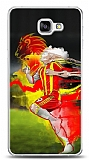 Dafoni Samsung Galaxy A9 Sarı Kırmızı Kılıf