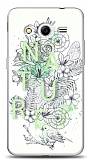 Dafoni Samsung Galaxy Core 2 Nature Flower K�l�f