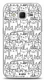 Dafoni Samsung Galaxy Core Prime Cats Kılıf