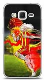Dafoni Samsung Galaxy Core Prime Sarı Kırmızı Kılıf