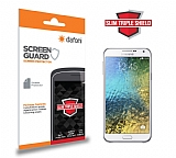Dafoni Samsung Galaxy E5 Slim Triple Shield Ekran Koruyucu