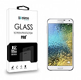Eiroo Samsung Galaxy E5 Tempered Glass Cam Ekran Koruyucu