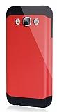Dafoni Samsung Galaxy E5 Slim Power Ultra Koruma Kırmızı Kılıf